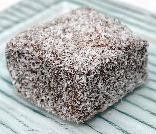 But where did the Lamington come from?