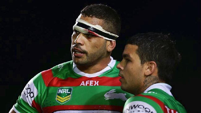Greg Inglis & Adam Reynolds from South Sydney