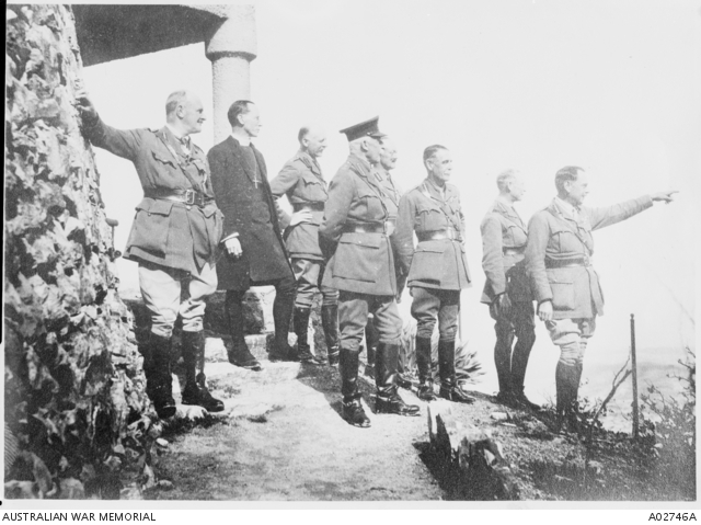 Allenby, Chauvel, Chetwode & HRH The Duke of Connaught. A02746A